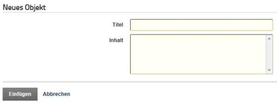 Das Formular, von 2SexyContent generiert.