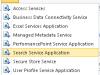 SharePoint Search Service Application lässt sich nicht mehr erstellen über denBrowser-Wizard