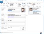 Kontakt im Outlook bearbeiten und Foto speichern