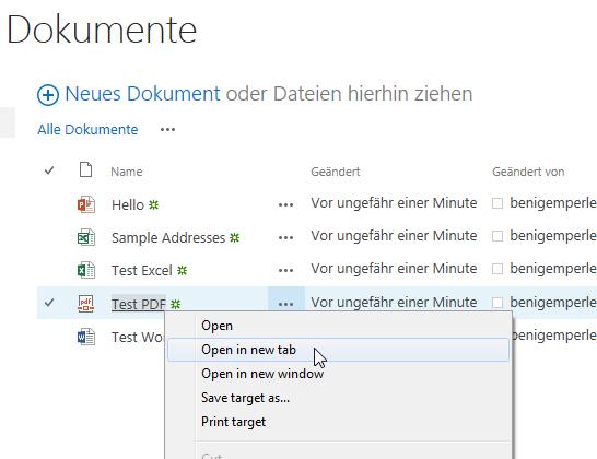SharePoint 2013 PDF in neuem Fenster öffnen